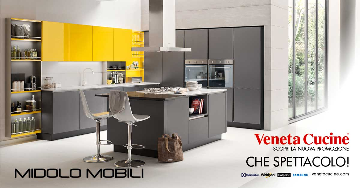 Outlet midolo mobili for Outlet cucine di marca